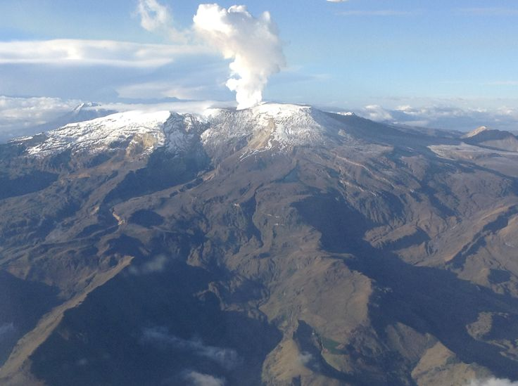 Nevado del Ruiz septiembre 2014.