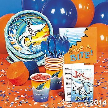 Jawsome Shark Party Supplies