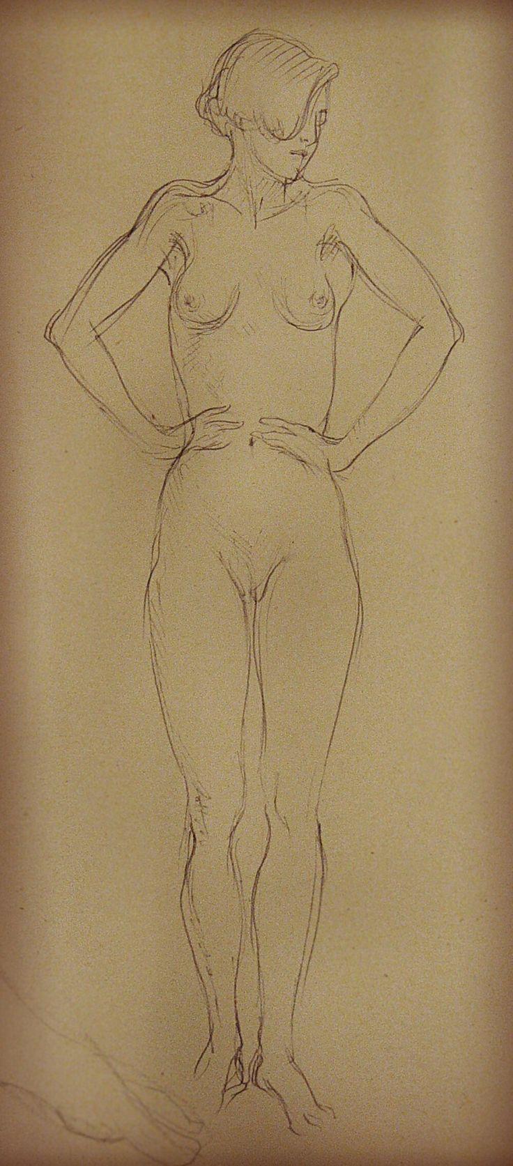 #набросок #обнаженная #grafica #nude #figure #girl #art #Dmitry_Kostylew #dailydraw