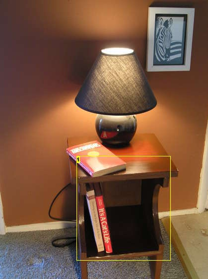 DIY on how to build a cardboard nightstand.