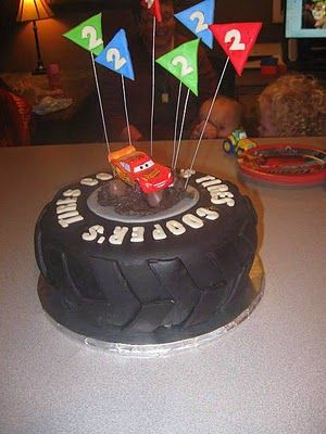 13 Best Images About Tire Cake On Pinterest