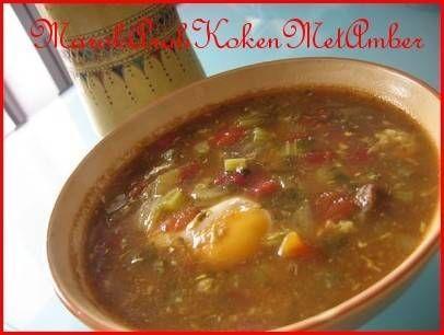 Marokkaanse Kikkererwten/linzensoep recept | Smulweb.nl