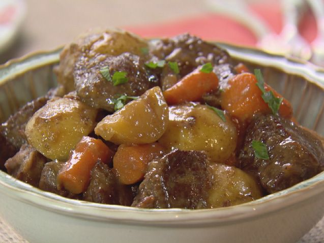 Slow-Cooker Stout Beef Stew Recipe : Trisha Yearwood : Food Network - FoodNetwork.com