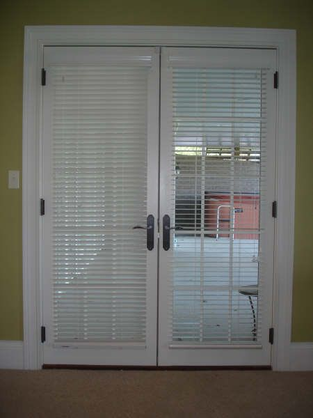 Best 25 french door blinds ideas on pinterest french door coverings blinds for sliding doors - Blinds for sliding french doors ...