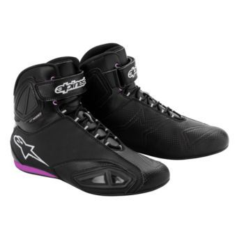 I NEED THESE! ALPINESTARS - Women's Stella Fastlane Waterproof Motorcycle Shoes - Riding Shoes - Street - Boots - Women's - CycleGear - Cycle Gear