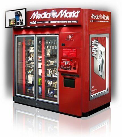 La tecnología en venta en vending