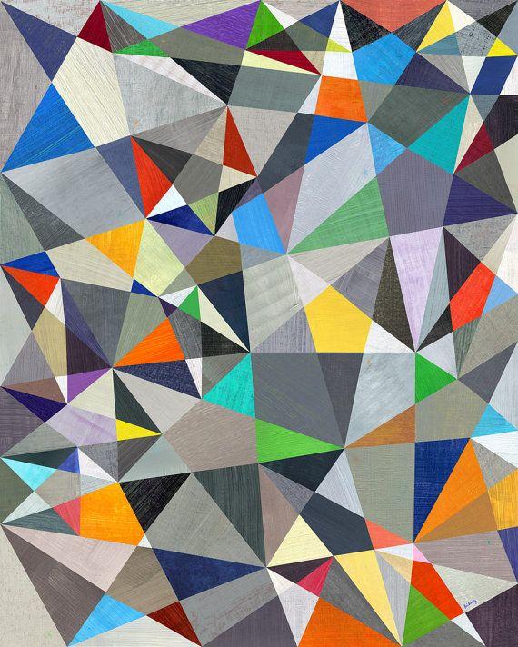 "Seeing Stars Art Print  11""x14"""