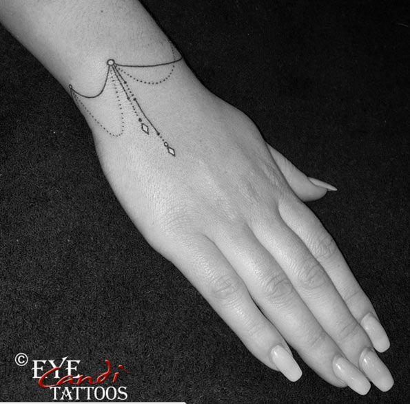 Elegant Bracelet Tattoo by Candi McLaren