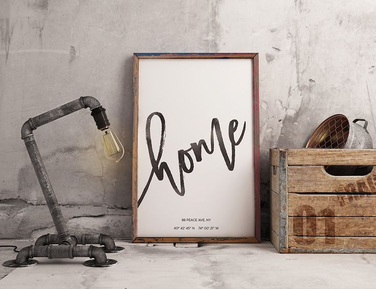 Showcase your most sacred location in the world - your home - in this striking modern calligraphy GPS coordinates wall art printable. Your home location will be turned into typography art, with 'home' in modern calligraphy above your unique coordinates. Your personalised print will add modern style to any room. https://www.etsy.com/au/listing/494184905