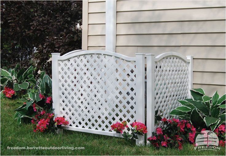Vinyl Lattice Panels Lowes Woodworking Projects Amp Plans Expert Lowes Decorative Garde In 2020 Outdoor Privacy Privacy Screen Outdoor Front Yard Garden Design