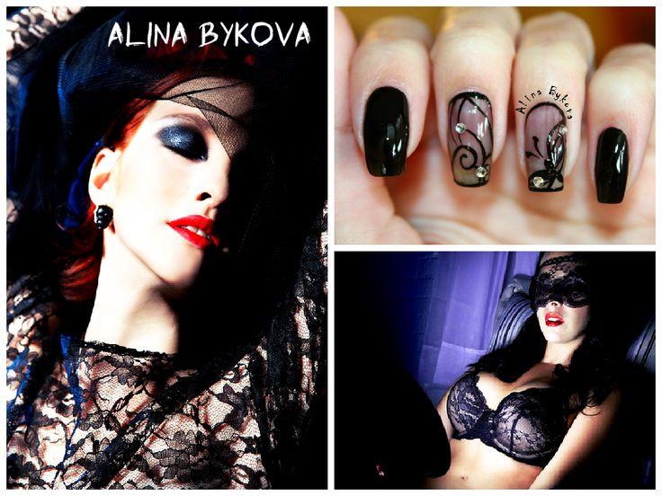 Красивые Ногти by Alina Bykova  #alinabykova #krasivienogti #nails Те, кто внимательно следит за модными течениями, заметили, что немалая доля нарядов с каждым сезоном становится все легче и прозрачнее, и в этом году дизайнеры смело заявили – да, в моде прозрачность. Она может быть довольно скромной, элегантно приоткрывающей стройные ноги или зону декольте, или же провокационной и шокирующей – когда надеты только шортики или трусики с высокой талией, а сверху прозрачный шифон и вышивка.