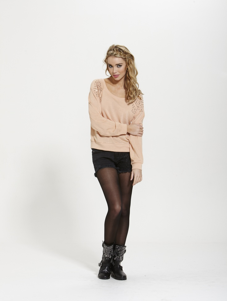 Olivia Crystal Jumper  Winter 2013  Shop Online @ http://shop.finesseboutique.co.nz/page/welcome