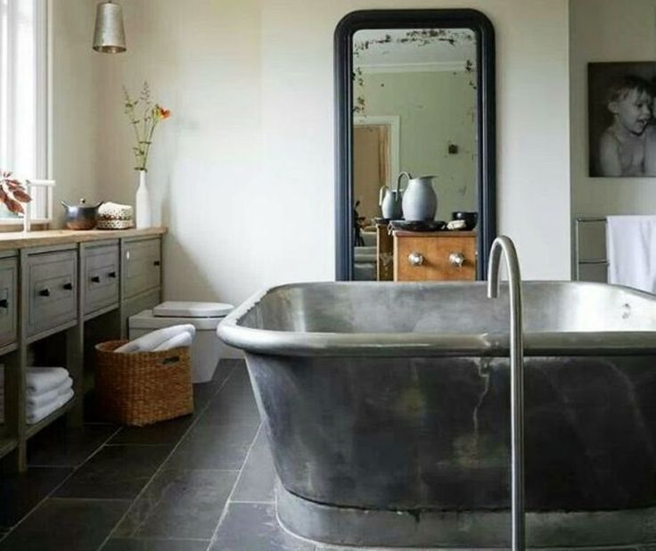Industrial μπάνια Για μίνιμαλ διακόσμηση.