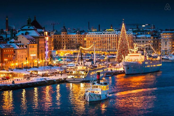 Towns in Sweden | Christmas in Gamla stan Stockholm is not something you would miss with ...