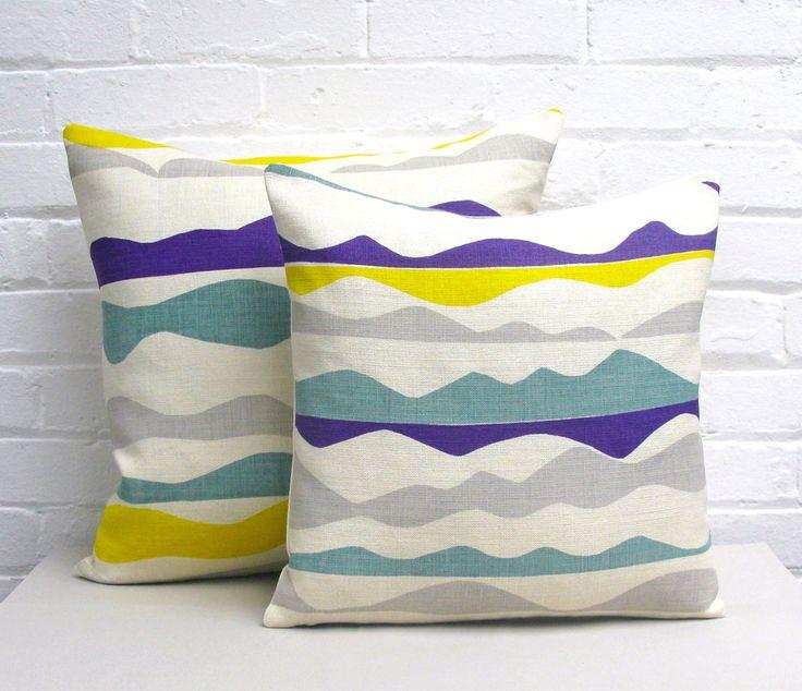 Tamasyn Gambell   Rik Rak Cushions   www.tamasyngambell.com