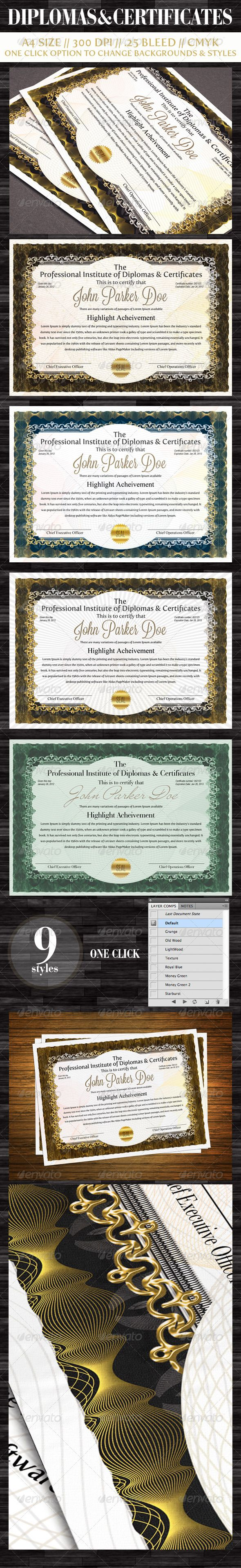 62 best award certificates images on pinterest plants creative diplomas certificates xflitez Gallery
