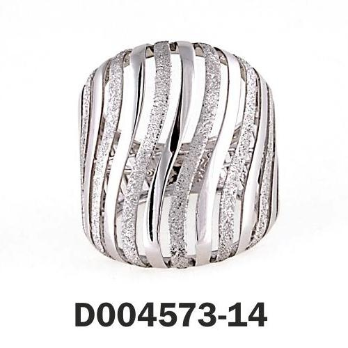 Ring White Gold 14k