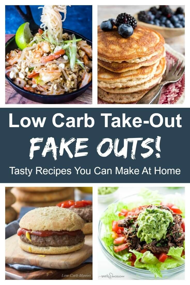 Miss take-out? Make your own low carb keto take-out at home! This roundup has something for everyone. #lowcarb #keto #indian #mexican #chinese #thai #friedchicken via @lowcarbmaven