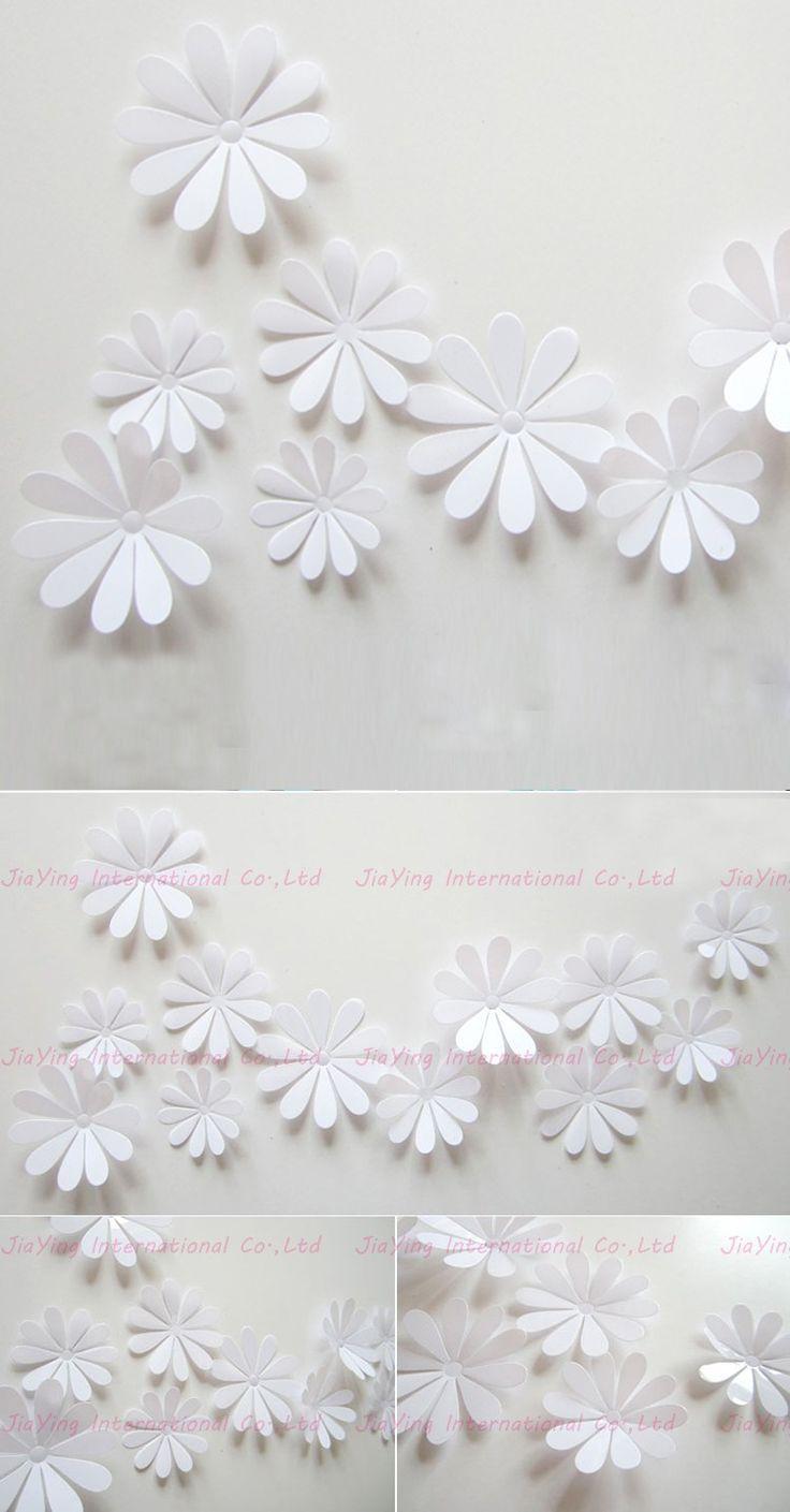 best 25 modern wall decals ideas on pinterest minimalist wall 12pcs set pvc flower 3d sticker wall simple modern wall stickers home decor living room bathroom modern wall decals y112