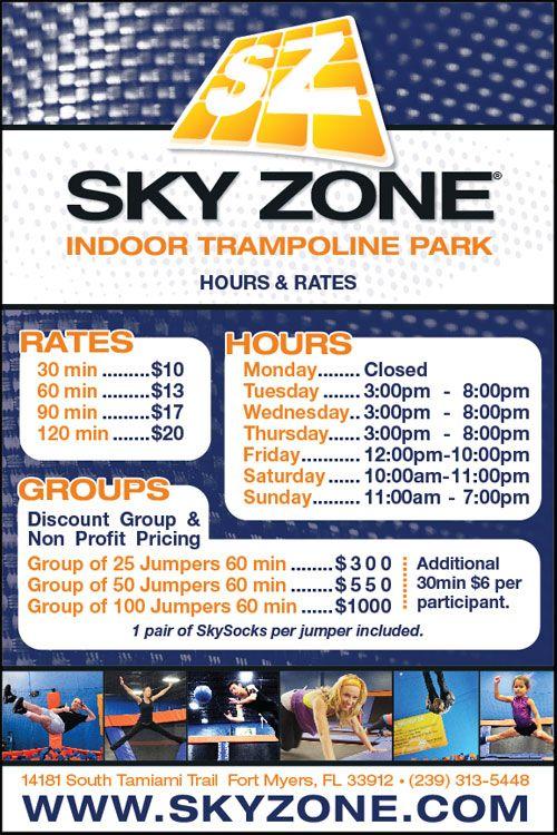 Sky Zone Indoor Trampoline Park > FortMyers