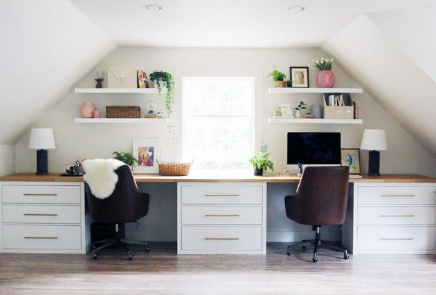 14 Inspirierende Ikea Desk Hacks, die Sie lieben werden