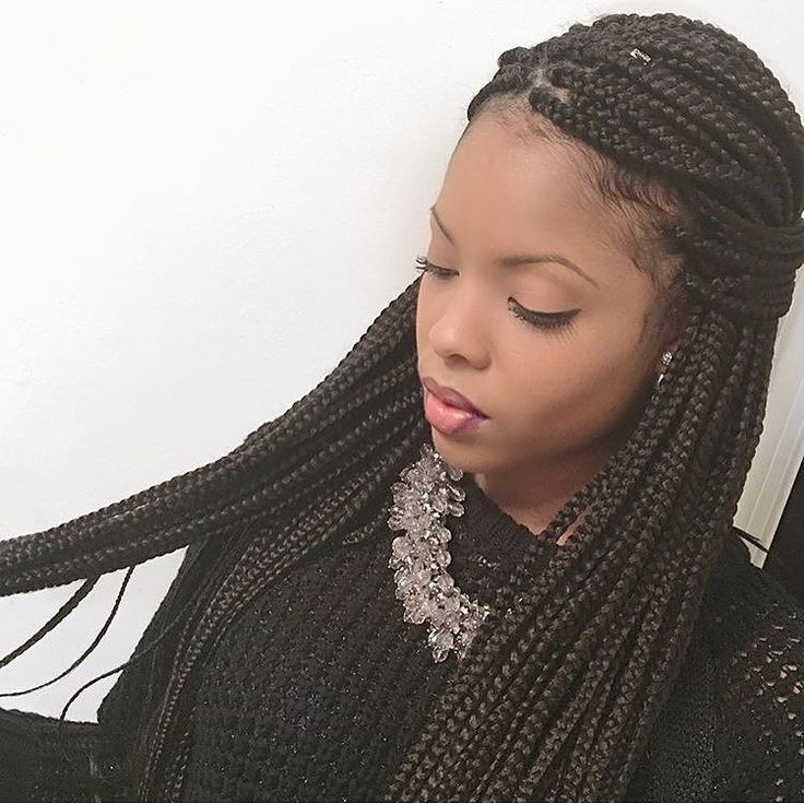 1000 ideas about individual braids on pinterest box