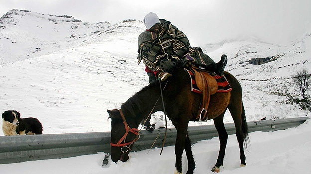 Lesotho Snow