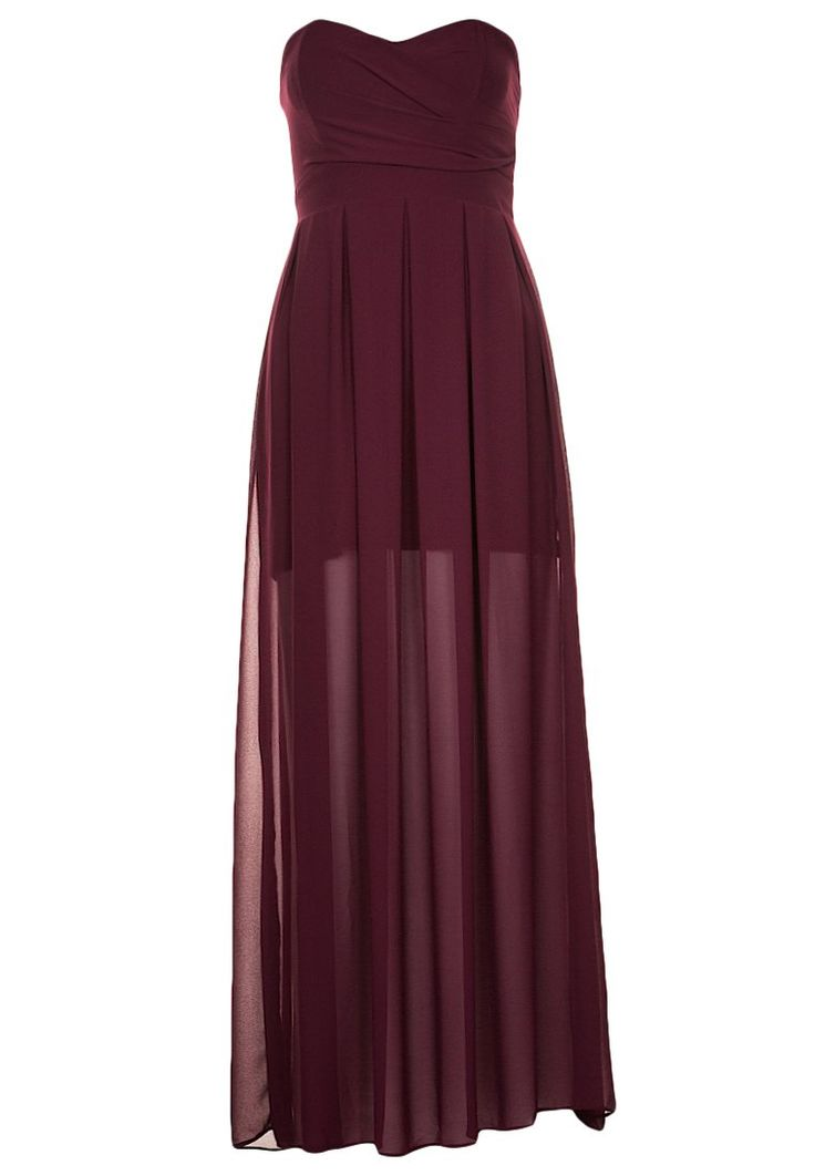 Maxi dresses TFNC ELIDA - Maxi jurk - burgundy Bordeaux: € 49,95 Bij Zalando (op 8-2-16). Gratis bezorging & retournering, snelle levering en veilig betalen!
