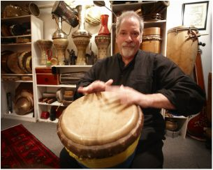 On Sunday December 3, at 4:00p.m., St. Michael's Parish  welcomes a very special percussion concert featuring John Marshall and  Mark Ingram.