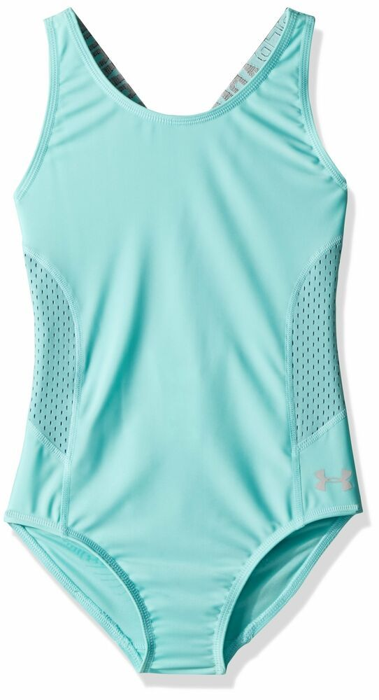135abaf1167 eBay Sponsored) Under Armour NEW Blue Women Size 12 Swimsuit Mesh ...