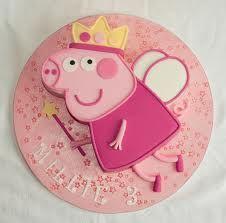princess and peppa pig cake – Google Search  – Jules Geburtstag