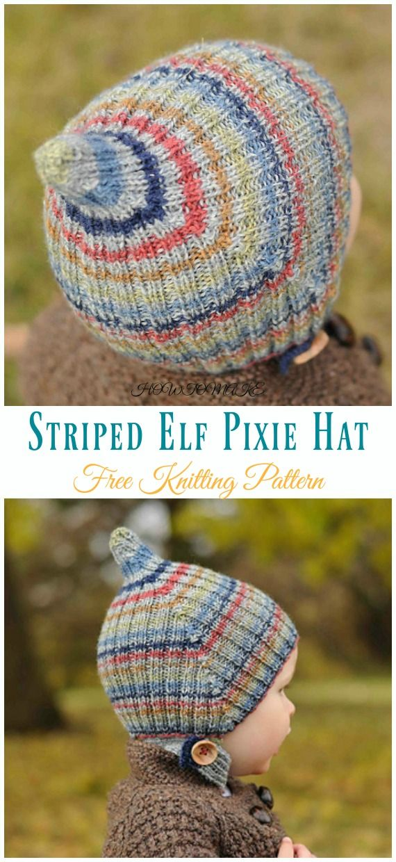 e1b8ce9d1b71 Kids Pixie Hat Free Knitting Patterns