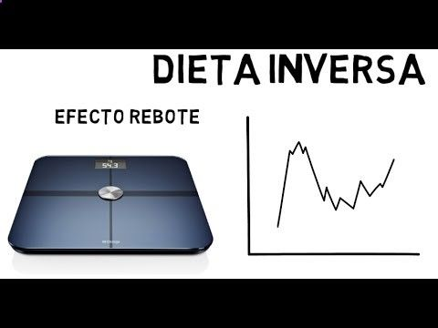 Dieta inversa ¿Evitar el efecto rebote? - YouTube