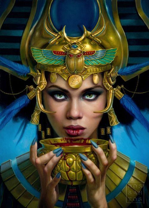 queen egyptian art wallpaper - photo #42