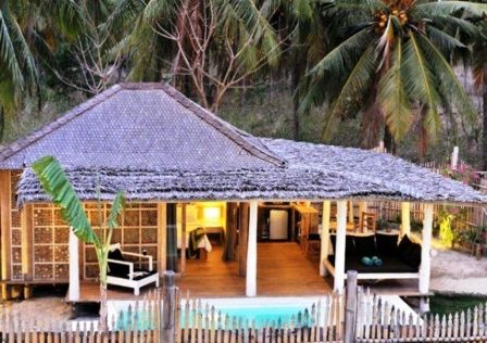 Vue de la villa Tottalia  #Bali #VillaBali #Locationvilla #Villaluxe #Luxe #Gilitrawangan