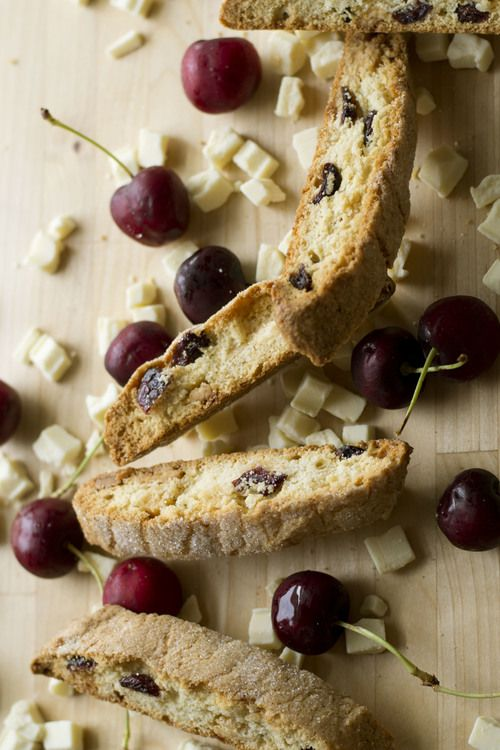 Cherry White Chocolate Biscotti - Eileen, I think we should learn to ...