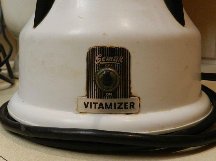 Vintage 1950s Semak Vitamizer - Working Order! - Great Retro Display Piece