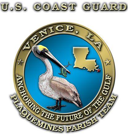 USCG Anchoring The Gulf Coast Guard Shirt $17.76