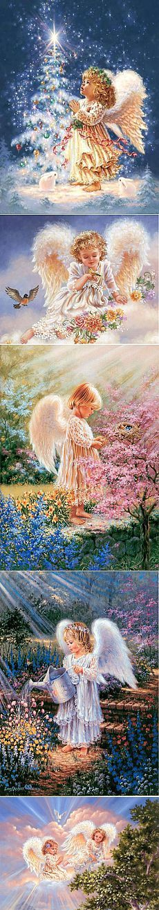 Красивые картинки ангелов