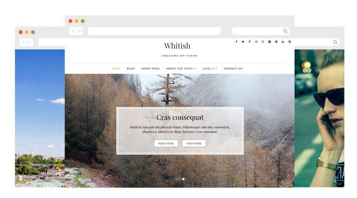 Whitish Lite – Template Gratis WordPress