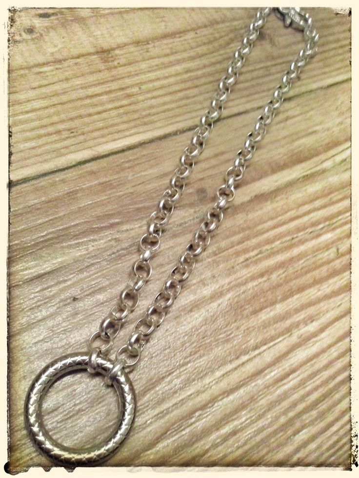 """""""Silver Attraction"""" - a necklace by ZW"""