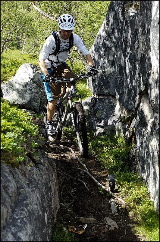 Norway mountain biking pictures and helmetcam mtb videos.