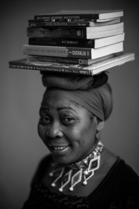 Gcina Mhlophe in21 Icons: Portrait of a Nation, at Museum of African Design, June 16 – Aug 17, 2014 #art #photography #portraits #southafrica