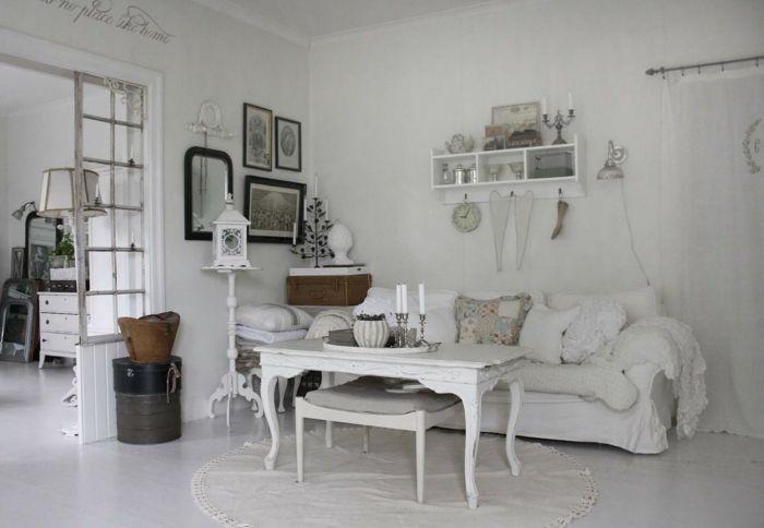 Shabby Chic Deko für eine romantische Note in Ihrem Zuhause