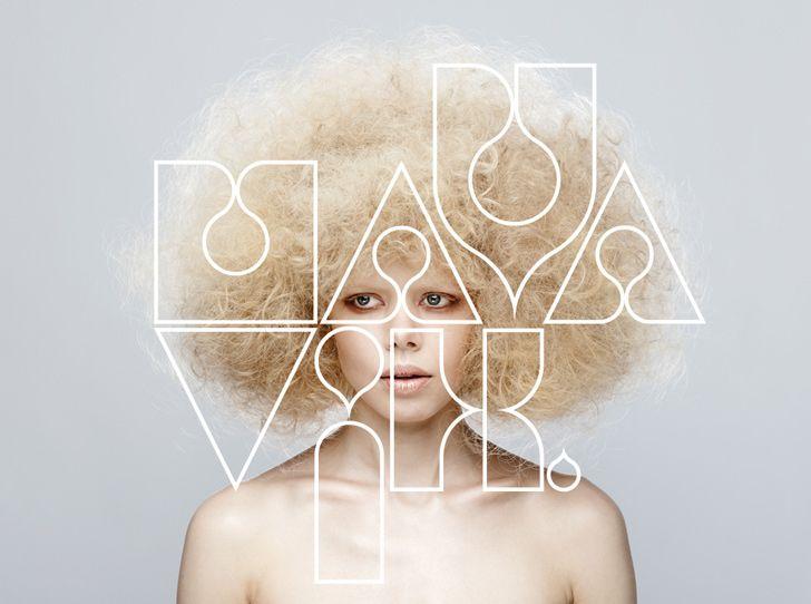 Artist branding for Maya Vik by Designer Gary Swindell