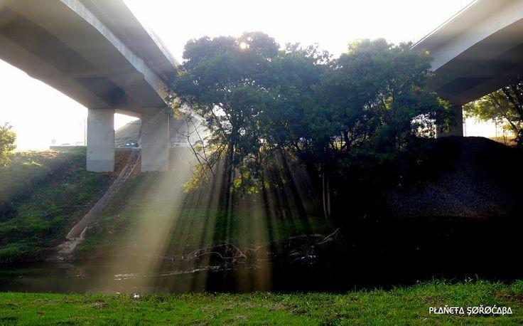 """Ponte Luiz Bérgamo (Acesso Rodovia """"Castelinho"""") Sorocaba SP."""