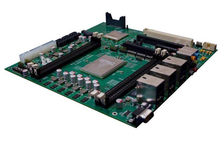 материнская плата на базе процессора Эльбрус-8С