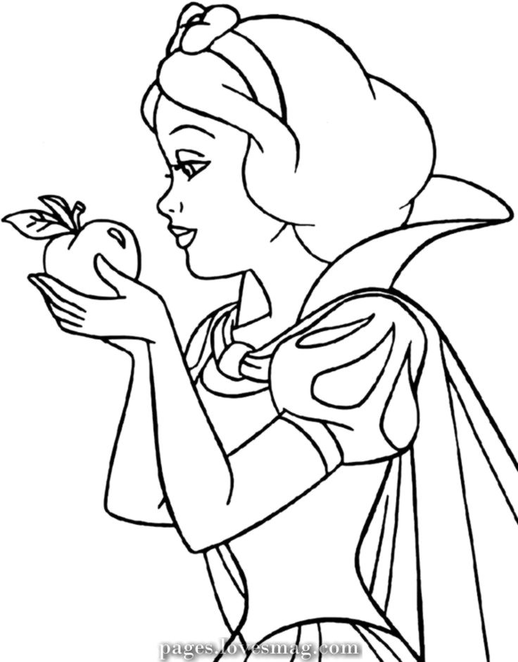 The Best Coloring Pages Of Snow White For Women Academic Printable Snow White Coloring Pages Disney Coloring Pages Disney Princess Coloring Pages