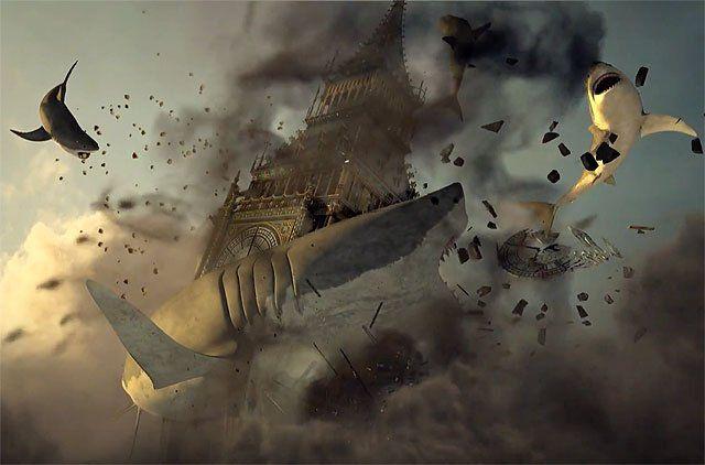Sharknado 5 Teaser Destroys Big Ben and More!