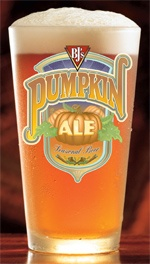 Pumpkin Ale from BJs is the best of both worlds.  Pumpkin flavor & beer.  What's not to love?